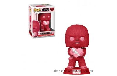 Star Wars Valentines Cupid Chewbacca Funko Pop! Vinyl Clearance Sale