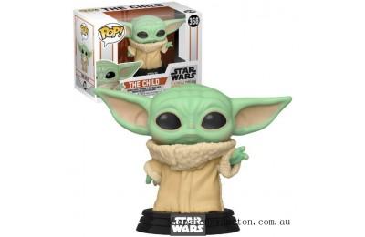 Star Wars The Mandalorian The Child (Baby Yoda) Funko Pop! Vinyl Clearance Sale
