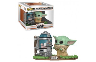 Star Wars: The Mandalorian - Child with Canister Funko Pop! Vinyl Clearance Sale