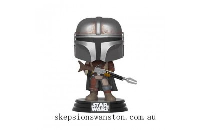 Star Wars The Mandalorian The Mandalorian Funko Pop! Vinyl Clearance Sale