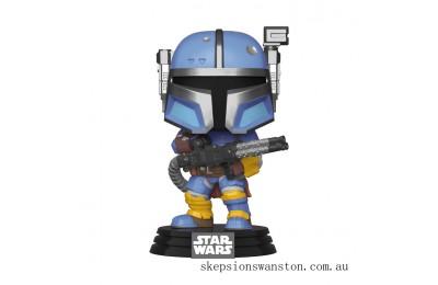 Star Wars The Mandalorian Heavy Infantry Mandalorian Funko Pop! Vinyl Clearance Sale
