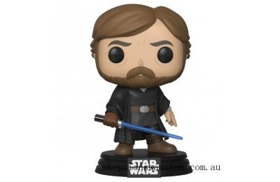 Star Wars The Last Jedi Luke Skywalker w/Light Saber Funko Pop! Vinyl Clearance Sale