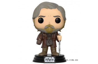 Star Wars The Last Jedi Luke Skywalker Funko Pop! Vinyl Clearance Sale