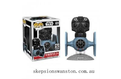 Star Wars Tie Fighter with Tie Pilot Funko Pop! Vinyl Clearance Sale