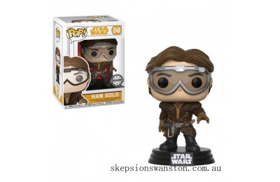 Star Wars Solo Han Solo with Goggles EXC Funko Pop! Vinyl Clearance Sale