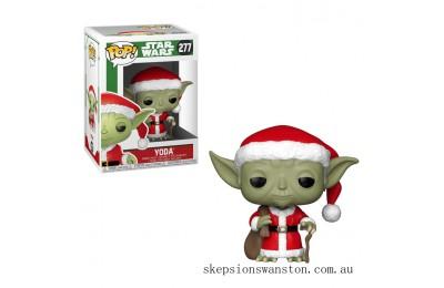 Star Wars Holiday - Santa Yoda Funko Pop! Vinyl Clearance Sale