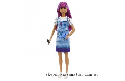 Clearance Barbie Careers Salon Stylist Doll
