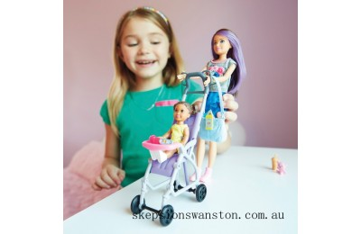 Outlet Sale Barbie Skipper Babysitters Inc Stroller Playset