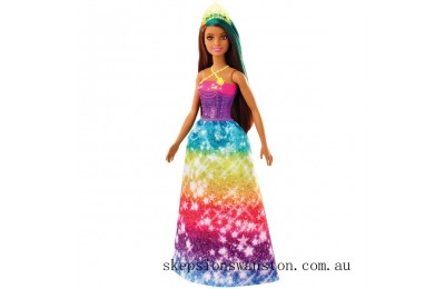 Outlet Sale Barbie Dreamtopia Princess Doll - Starry Rainbow Dress