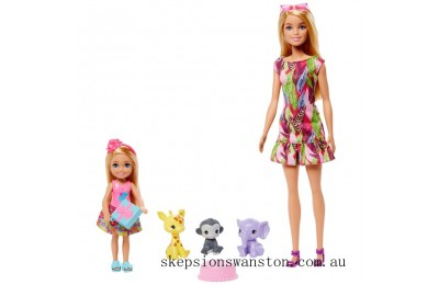Hot Sale Barbie and Chelsea The Lost Birthday Dolls and Pets Set