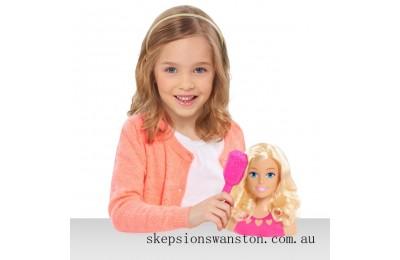Genuine Barbie Mini Blonde Styling Head