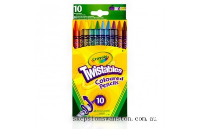 Hot Sale Crayola 10 Twistable Pencils