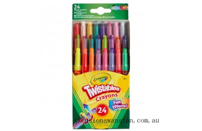 Hot Sale Crayola 24 Mini Twistable Crayons