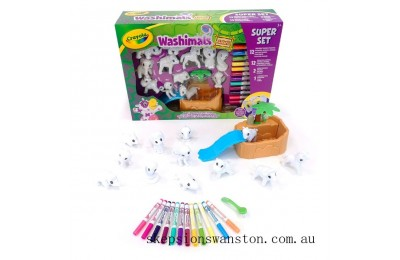 Hot Sale Crayola Washimals Safari Super Set