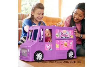 Outlet Sale Barbie Fresh n Fun Food Truck Playset