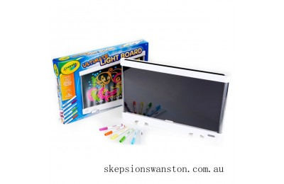 Clearance Crayola Ultimate Light Board