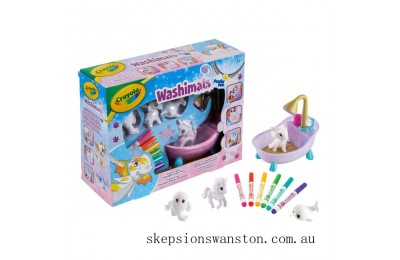 Clearance Crayola Washimals Peculiar Pets Playset