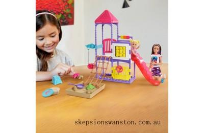 Hot Sale Barbie Skipper Babysitters Inc Climb 'n' Explore Playground Dolls and Playset