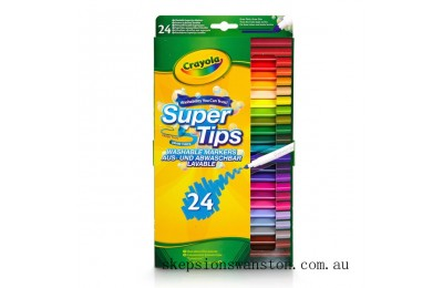 Hot Sale Crayola 24 Supertips