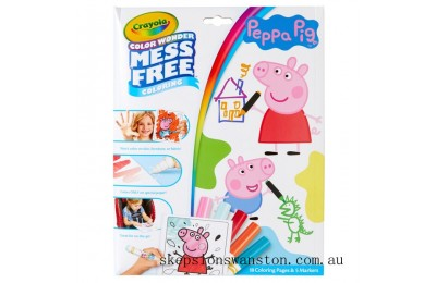 Genuine Crayola Colour Wonder Peppa Pig
