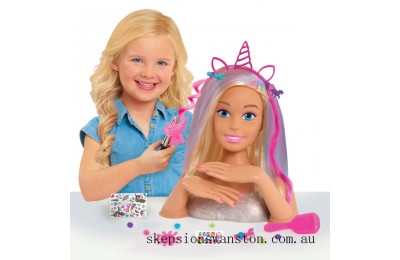 Outlet Sale Barbie Glitter Hair Deluxe Styling Head