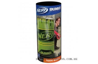 Outlet Sale NERF Bunkr Take Cover Toxic Barrel