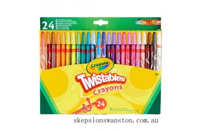 Hot Sale Crayola 24 Twistable Crayons