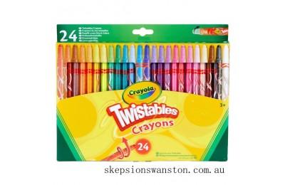 Hot Sale Crayola 24 Twistable Crayons