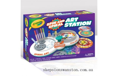 Genuine Crayola Spin and Spiral Art Station