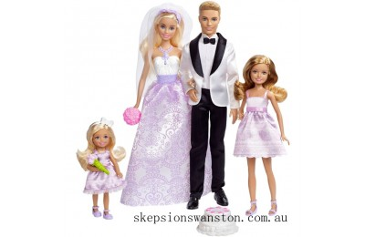 Clearance Barbie Wedding Gift Set