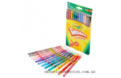 Hot Sale Crayola 12 Twistables Crayons
