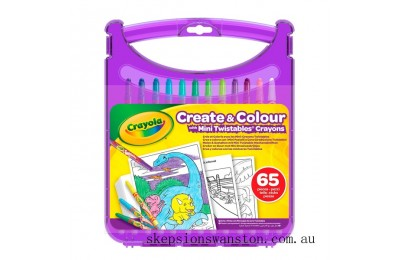 Clearance Crayola Create & Colour Mini Twistables