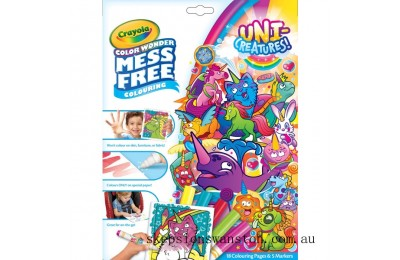 Clearance Crayola Colour Wonder Unicreatures
