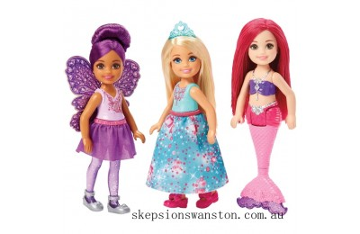 Hot Sale Barbie Dreamtopia 3 Doll Set