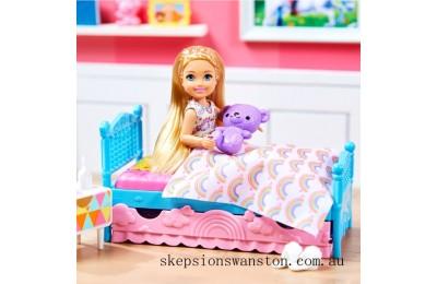 Hot Sale Barbie Club Chelsea Doll Bedtime Playset