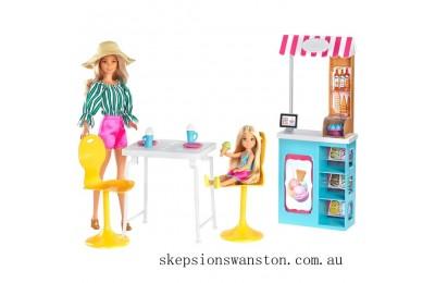 Outlet Sale Barbie Club Chelsea Gelato Café Playset