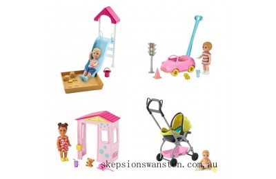 Discounted Barbie Skipper Babysitters Accessories Assortment