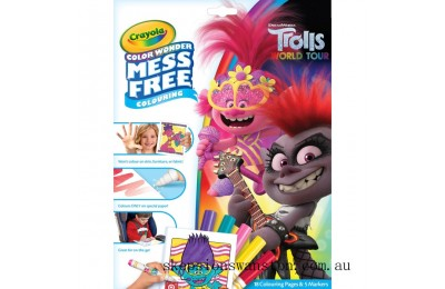 Hot Sale Crayola Trolls 2 Colour Wonder