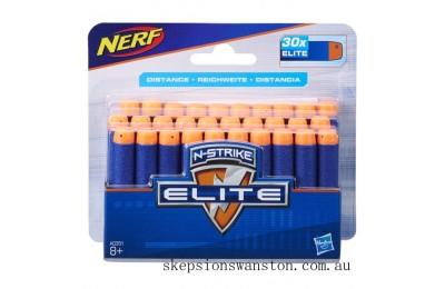 Clearance NERF N-Strike Elite Dart Blaster Refills 30 Pack