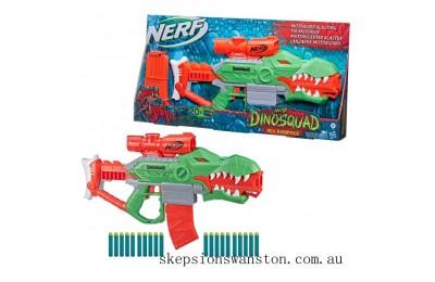 Discounted Nerf DinoSquad Rex-Rampage Motorised Dart Blaster