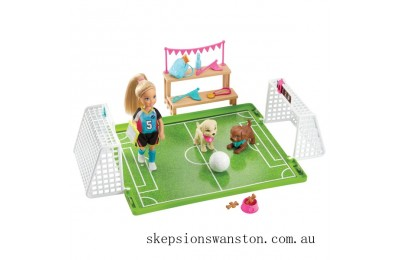 Discounted Barbie Chelsea's Soccer Playset