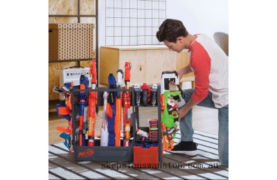 Outlet Sale NERF Elite Blaster Rack