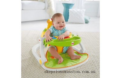 Clearance Fisher-Price Giraffe Sit Me Up Floor Seat with Tray