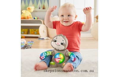 Hot Sale Fisher-Price Linkimals Smooth Moves Sloth Baby Toy