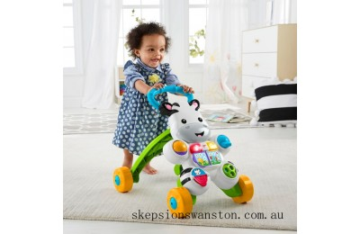 Hot Sale Fisher-Price Learn with Me Zebra Walker Baby Walker