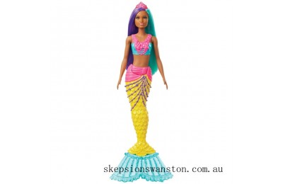 Hot Sale Barbie Dreamtopia Mermaid Doll - Purple and Teal