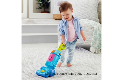 Genuine Fisher-Price Laugh and Learn Light-up Learning Vacuum