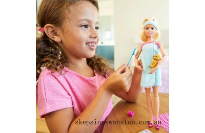 Discounted Barbie Wellness Spa Doll