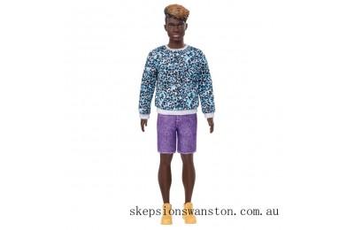 Clearance Ken Fashionistas Doll 153 Moulded Dreadlocks