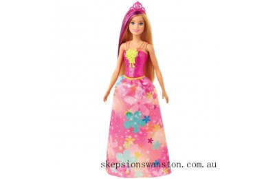 Hot Sale Barbie Dreamtopia Princess Doll - Flowery Pink Dress